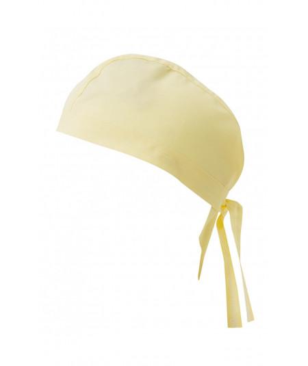 Gorro Tiras Amarillo Claro