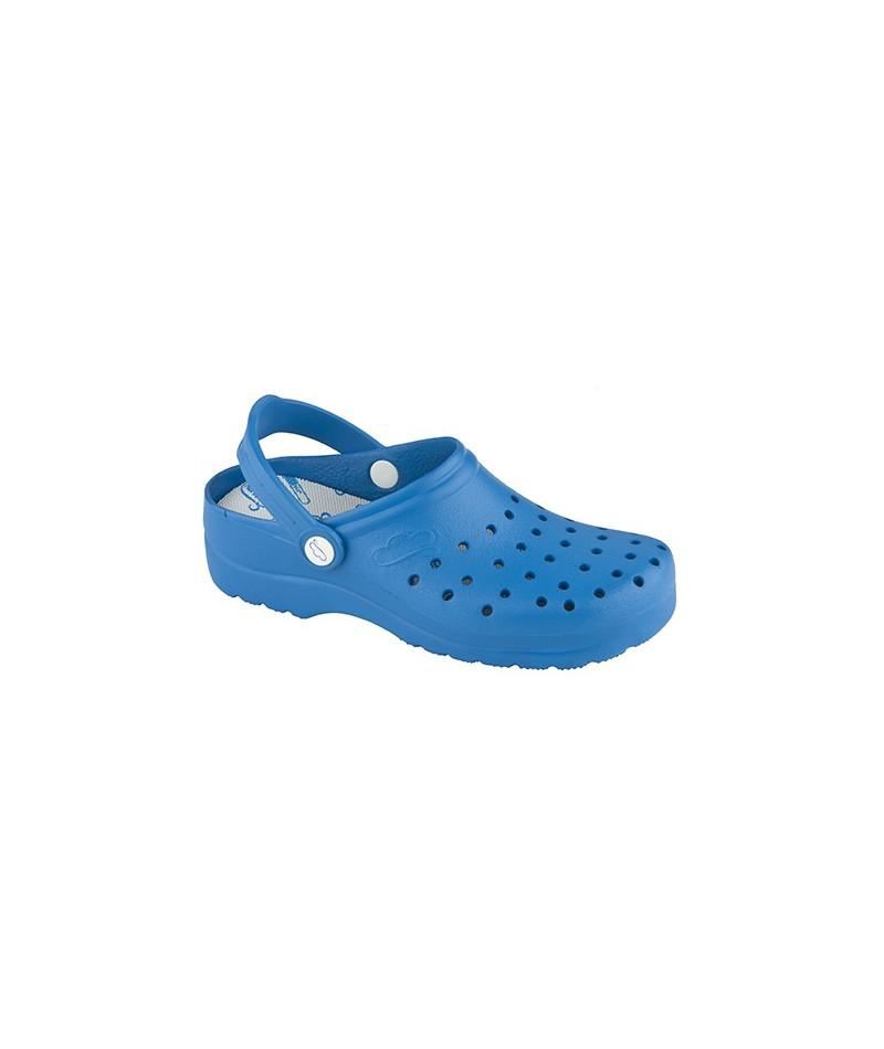Zueco Flotante Azul Electrico