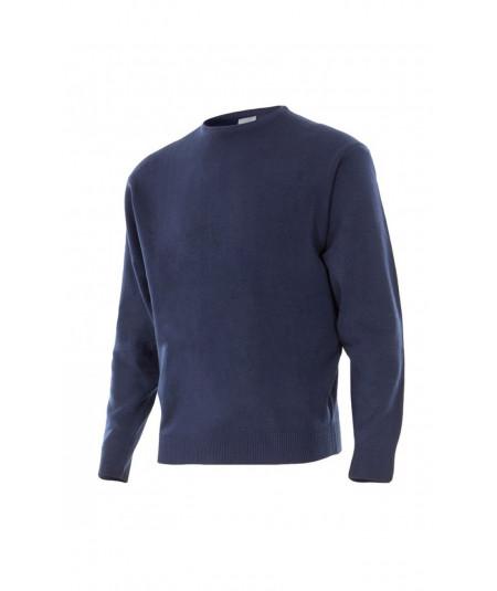 Jersey de punto fino con cuello redondo