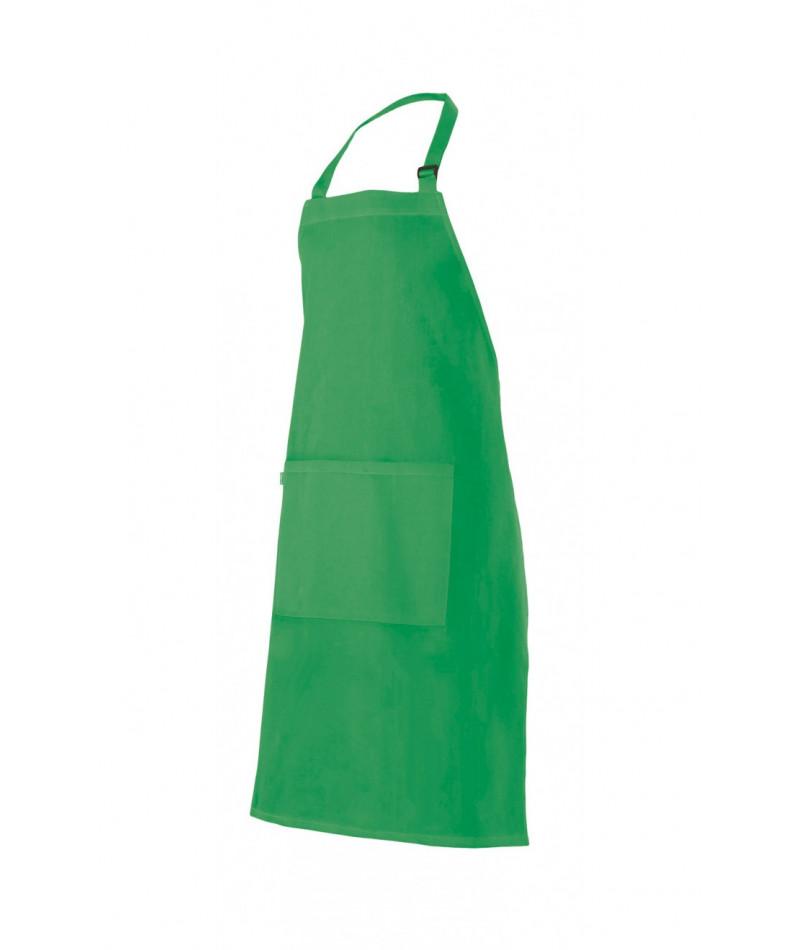 Delantal Peto Hebilla Verde