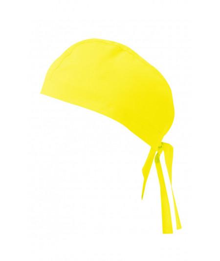 Gorro Tiras Amarillo Fluor