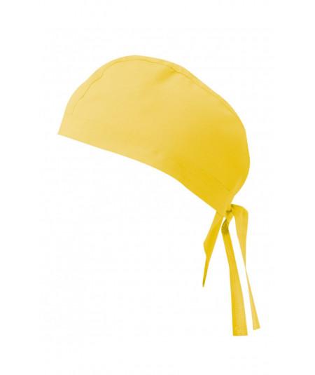 Gorro Tiras Amarillo