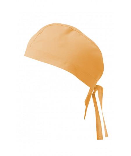 Gorro Tiras Naranja Claro