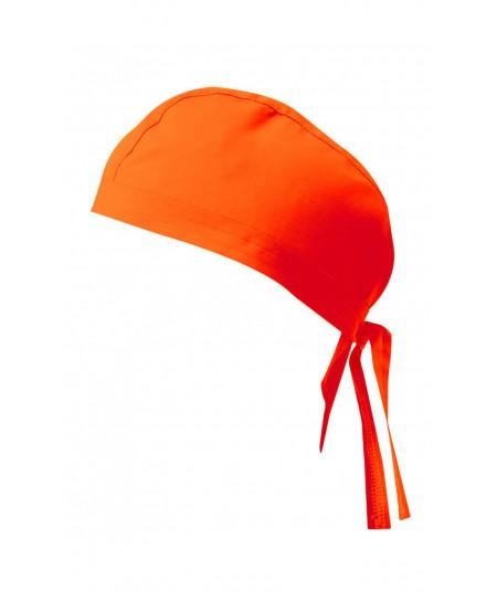 Gorro Tiras Naranja Fluor