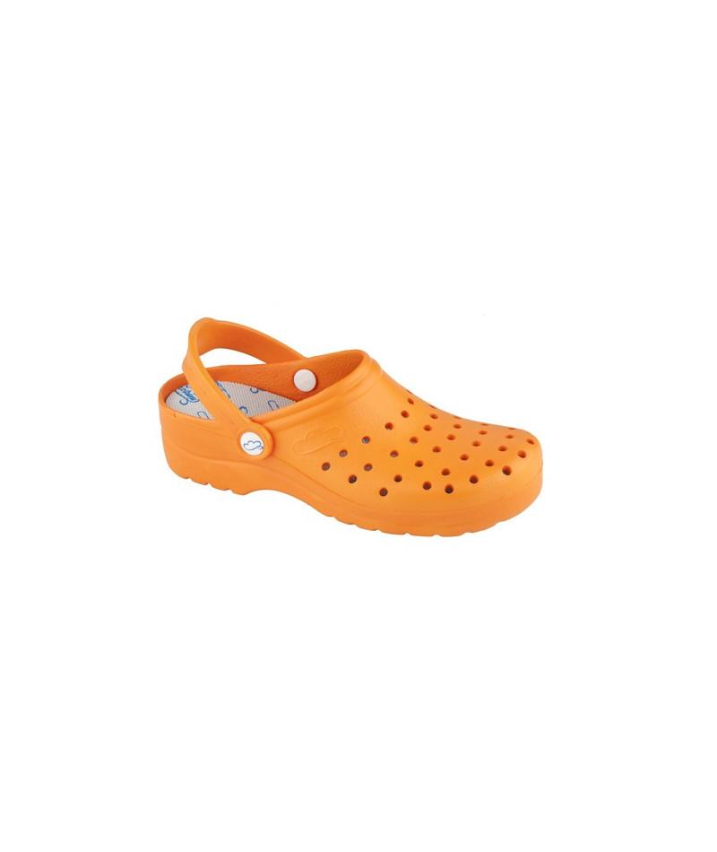 Zueco Flotante Naranja