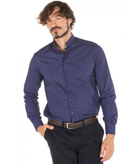 Camisa Hombre Cuello Mao M.L