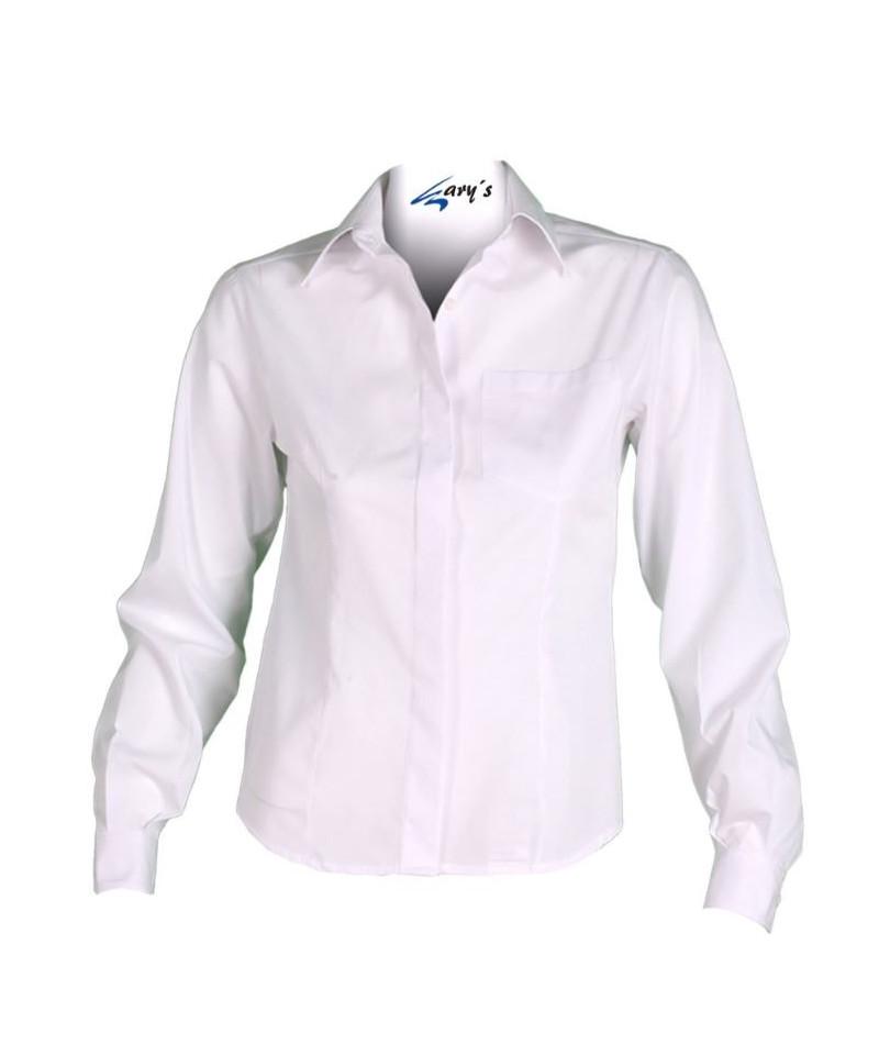 Camisa Mujer Clásica Blanco