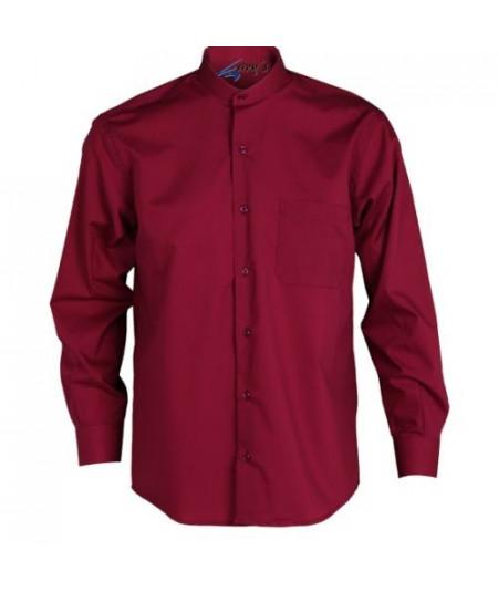 Camisa Hombre Burdeos