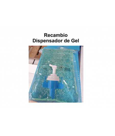 Recambio Dispensador de Gel