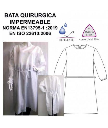 Bata Quirúrgica Impermeable