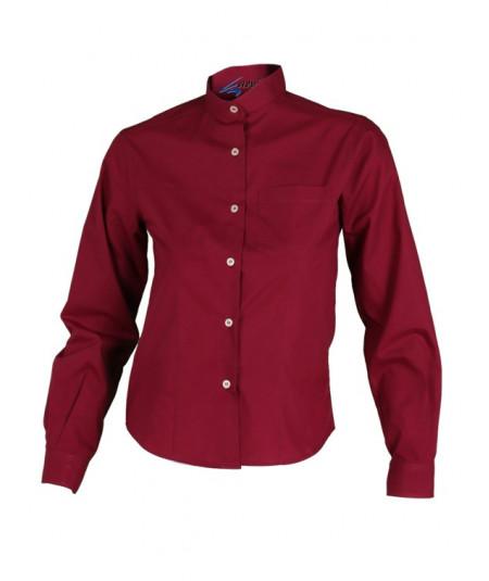 Camisa Mujer M.L. Burdeos