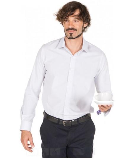 Camisa Hombre M.L. Punteada