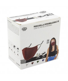Mascarilla Reutilizable con Filtro